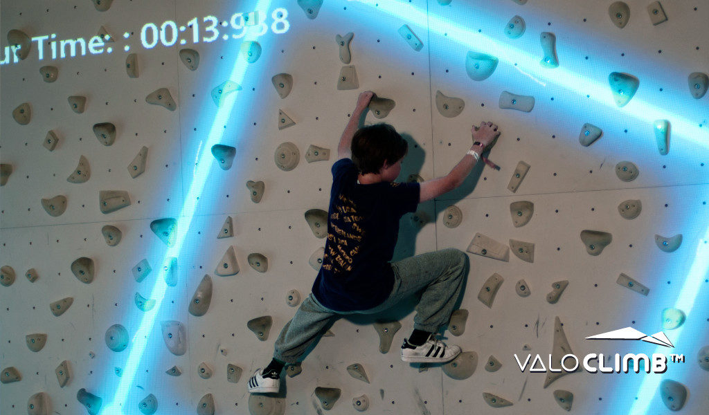 Augmented Reality climbing: Sparks